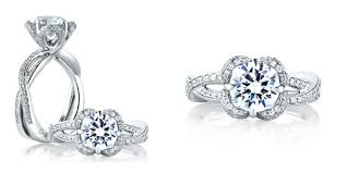 engagement rings flower design findmyrock price lists education engagement