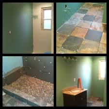 Painting Bathroom Ideas Top Left Painting The Bathroom Top Right Installing Natural
