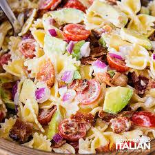 recipes for pasta salad bacon avocado pasta salad