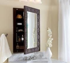 Framed Mirror Medicine Cabinet D Framed Silver Framed Medicine Recessed Wood Medicine Cabinets With Mirrors Foter