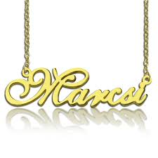sterling silver nameplate necklace wholesale sterling silver nameplate necklace golden name pendent