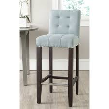 safavieh thompson sky blue bar stool 30 inch mcr4505g iron