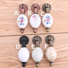 black ceramic cabinet knobs white black shaky drop pendant ceramic drawer cabinet knobs pulls