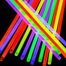 glow lights etekcity 100 8 light up glow sticks bracelets