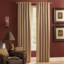 Thermal Panel Curtains Shop Style Selections Roberta 84 In Natural Polyester Rod Pocket