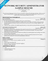 download network administartion sample resume