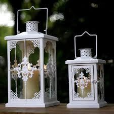 bougie jardin spécial européen classique blanc fer lanterne bougie taiwan