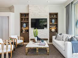 open second floor loft style living contemporary coffee table
