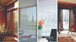 patio doors interior dark thermal panel blinds with white cornice