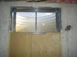 Replacing A Basement Window by Where And Why Do Basements Leak What Causes Basement Leaking