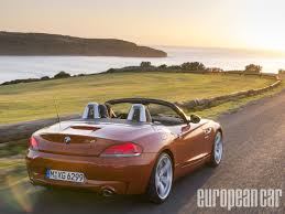 2014 bmw z4 roadster european car magazine