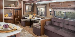 rv outdoor kitchen ideas trends and bunkhouse travel trailers with
