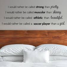 soccer quote decal soccer decal soccer wall decal zoom