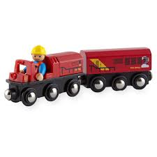 imaginarium 3 piece articulated figure and freight train set