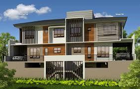 Luxury Duplex House Plans Ridges Homes At Casa Rosita Cebu Feh Real Estate Agents