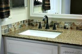 Double Bathroom Vanity Tops by Vanities Diy Double Sink Vanity Top Diy Double Sink Vanity Plans