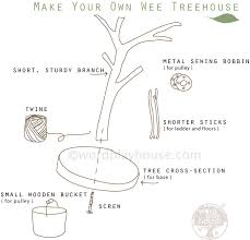 building your own tree house how to build a house make a mini play treehouse wordplayhouse