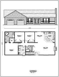 ranch floorplans floor modern ranch floor plans