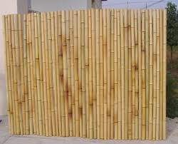 split bamboo fence design ideas landscaping gardening ideas