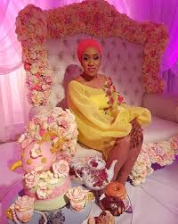 first look zahra buhari u0027s bridal shower zahmed2016 bellanaija
