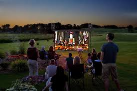 running with scissors diy outdoor movie screen pics with charming