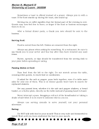 Thank You Note After Dinner Party - dining etiquette guide