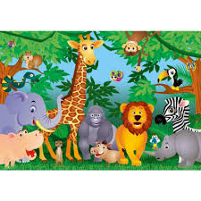 wall ideas jungle wall mural pictures jungle wall murals do it enchanting jungle wall decals for nursery canada jungle story large paint jungle wall mural decals