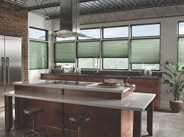 modern kitchen window contemporary blinds treatments ideas