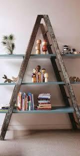 Diy Ladder Bookshelf 15 Best Sweet Home Images On Pinterest Sweet Home A Ladder And