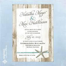 starfish wedding invitations cheap wedding invitations sanbenito co