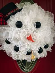 decorative wreaths for the home snowman wreath winter wreath winter snowman wreath holiday