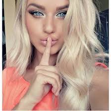 how to make hair white make up girl beautiful fashion hair coral pink blue