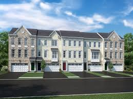 Ryland Homes Floor Plans Onassis Floor Plan In Summit Bridge Townhomes Calatlantic Homes