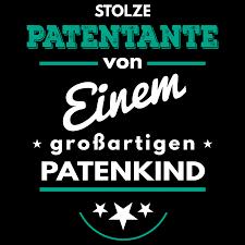 patentante sprüche stolze patentante einem großartigen patenkind damen t shirt