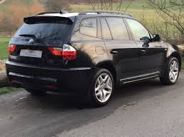 bmw x3 m sport black used 2006 bmw x3 3 0 sd m sport for sale in chesterfield