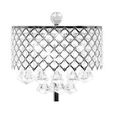 Small Table Lamp Black Crystals Small Table Lamp El Dorado Furniture