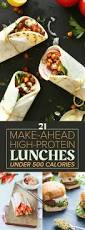 Dinner For The Week Ideas 21 High Protein Lunches Under 500 Calories Protein Lunch 500