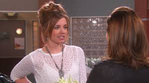 melanie jonas hair watch days of our lives highlight theresa and melanie not bffs