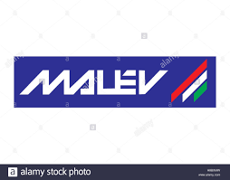 malev hungarian airlines logo stock photo royalty free image