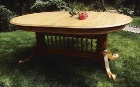 Oak Pedestal Table Online Kitchen Gallery Oakleafwoodworking Com