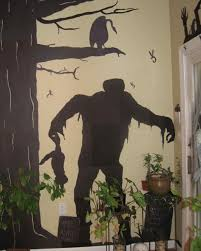 halloween monster window silhouettes your handmade halloween decorations martha stewart
