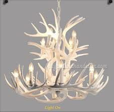 Best Ceiling Lights 12 Cast Deer Antler Chandelier White Ceiling Lights