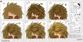 hair tutorial by renaillusion