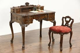 french style writing desk sold french style antique carved writing desk chair set new
