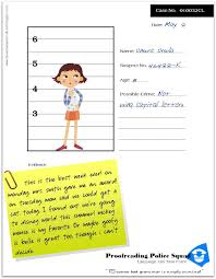 Proof Reading Worksheets Relentlessly Fun Deceptively Educational Proofreading Police