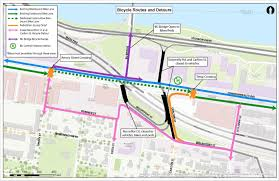 Mass Pike Exits Map What You Need To Know About The Comm Ave Closure Wbur News