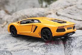 orange and black lamborghini 1 24 yellow orange black diecast lamborghini aventador model