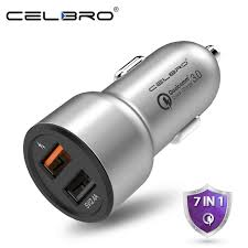 phone charger car charger quick charge 3 0 dual usb car charger for mobile phone