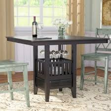 modern u0026 contemporary adjustable height dining table allmodern