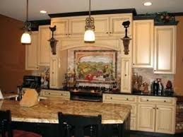 Tuscan Kitchen Decorating Ideas Photos Lovely Tuscan Kitchen Decor Image Of Kitchen Decor Ideas Material